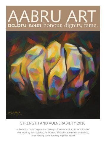 STRENGTH AND VULNERABILITY 2016