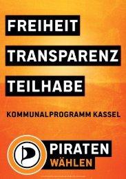 Kommunalprogramm Kassel