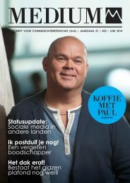 Medium / Jaargang 27 / #03 / Juni 2014