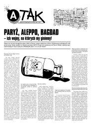 A-Tak // Anarchistyczna Gazeta Uliczna // nr 2