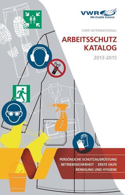 VWR Safety catalogue NEW DE