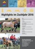 Katalog Ponykörung und Freilaufwettbewerb Warmblut am 13. März 2016 - Seite 2
