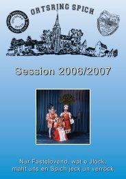 prinzenlied der session 2006 - 2007 - Karnevals Ausschuss Spich