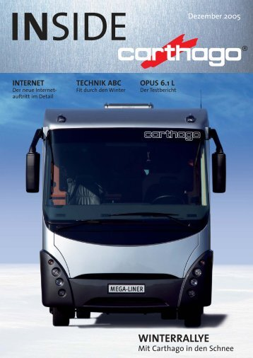 INSIDE 04_05 - Carthago Reisemobilbau GmbH