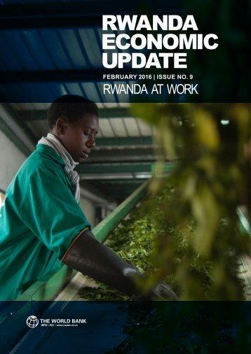 Rwanda Economic Update