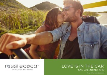 LOVE IS IN THE CAR