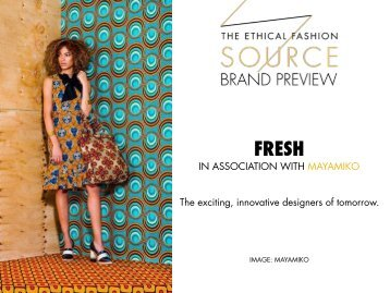 Brand Preview 2016 - Fresh