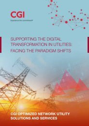Supporting the Digital Transformation in Utilities Facing the Paradigm Shifts