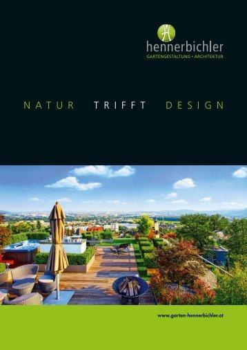 Gartengestaltung Hennerbichler - Katalog 2016