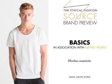 Brand Preview 2016 - Basics