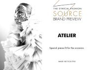 Brand Preview 2016 - Atelier