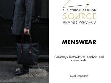 Brand Preview 2016 - Menswear