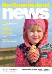 Northumberland News - Spring 2015