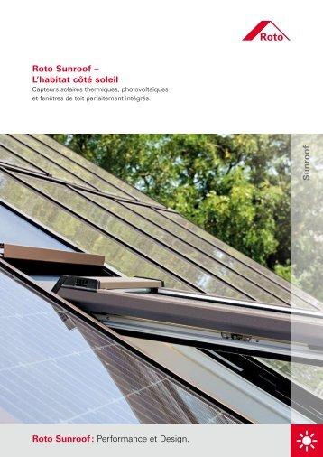 Roto Sunroof - ROTO Bauelemente GmbH - Roto Dach