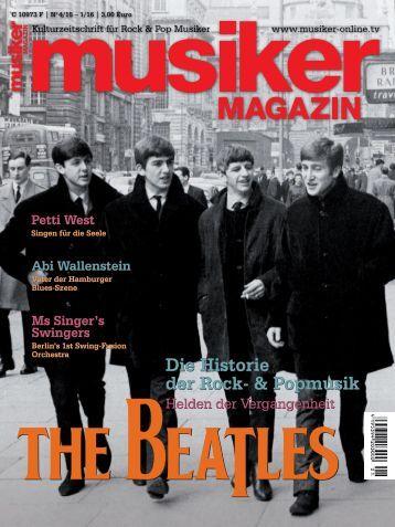 Musiker Magazin 04/2015 – 01/2016