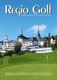 Magazin Regio Golf Zürich-Ostschweiz 2019