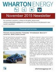 WUEG November 2015 Newsletter