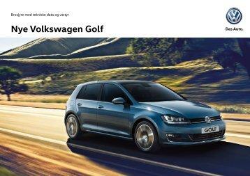 Nye Volkswagen Golf