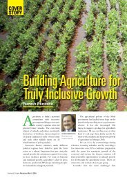 Agriculture for Building Truly Inclusive Growth