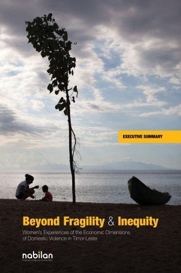 Beyond Fragility & Inequity