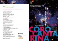 M ag n ifi cat B W V 2 4 3 A H y m n to th e V irg in ... - Coro Cantarina