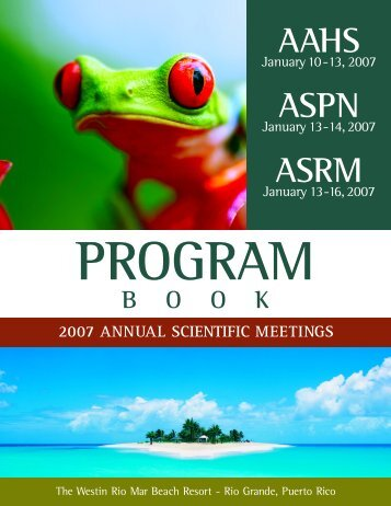 AAHS ASPN ASRM - 2013 Annual Meeting - American Association ...
