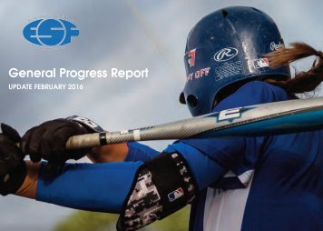 General Progress Report