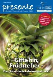 Gifte hin, Früchte her - Der globalisierte Lebensmittelmarkt