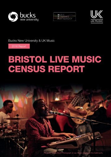 BRISTOL LIVE MUSIC CENSUS REPORT