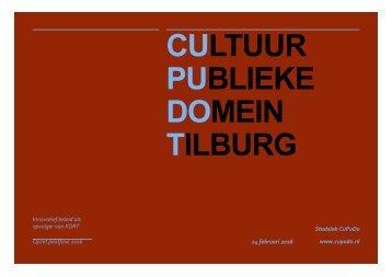 CULTUUR PUBLIEKE DOMEIN TILBURG