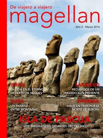 Revista de viajes Magellan - Marzo 2016