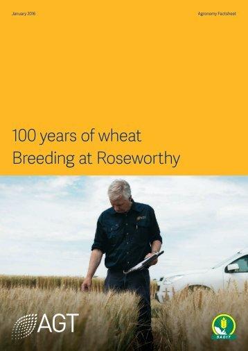 Breeding at Roseworthy