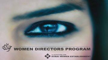 WOMEN DIRECTORS PROGRAM