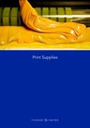 Broschüre Print Supplies Deutsch