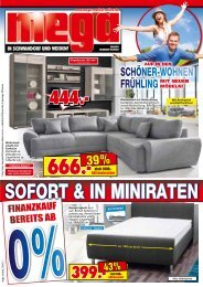 Auf in den Schöner-Wohnen Frühling mit neuen Möbeln!