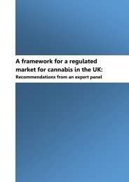 market for cannabis in the UK