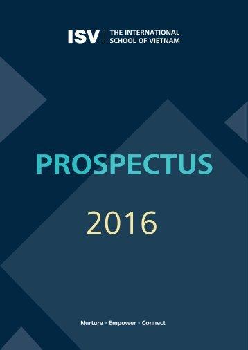 ISV - Prospectus 2016