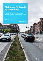 Støjgener fra byveje og motorveje