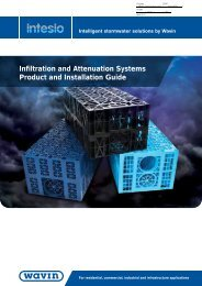 Intesio Infiltration and Attenuation Systems Product and ... - i4info.biz