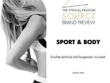 Brand Preview 2016 - Sport & Body