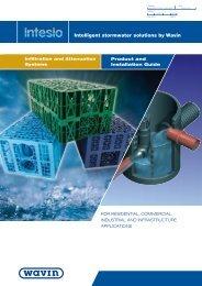 Intelligent stormwater solutions by Wavin