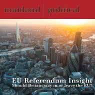 EU Referendum Insight