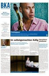 Berner Kulturagenda 2016 N°09