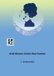 Arab Women Artists Now Festival