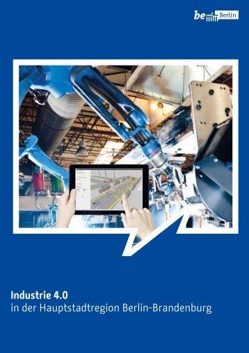 Industrie 4.0 in der Hauptstadtregion Berlin-Brandenburg