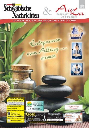 Schwäbische Nachrichten & AuLa - März 2016