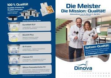 Dinova Kochtopf Aktion - 02.03. - 31.05.16