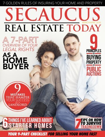 Secaucus Real Estate Today - March/April 2016
