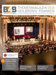 MESSEN, TAGUNGEN, SEMINARE & EVENTS | B4B Themenmagazin 03.2016