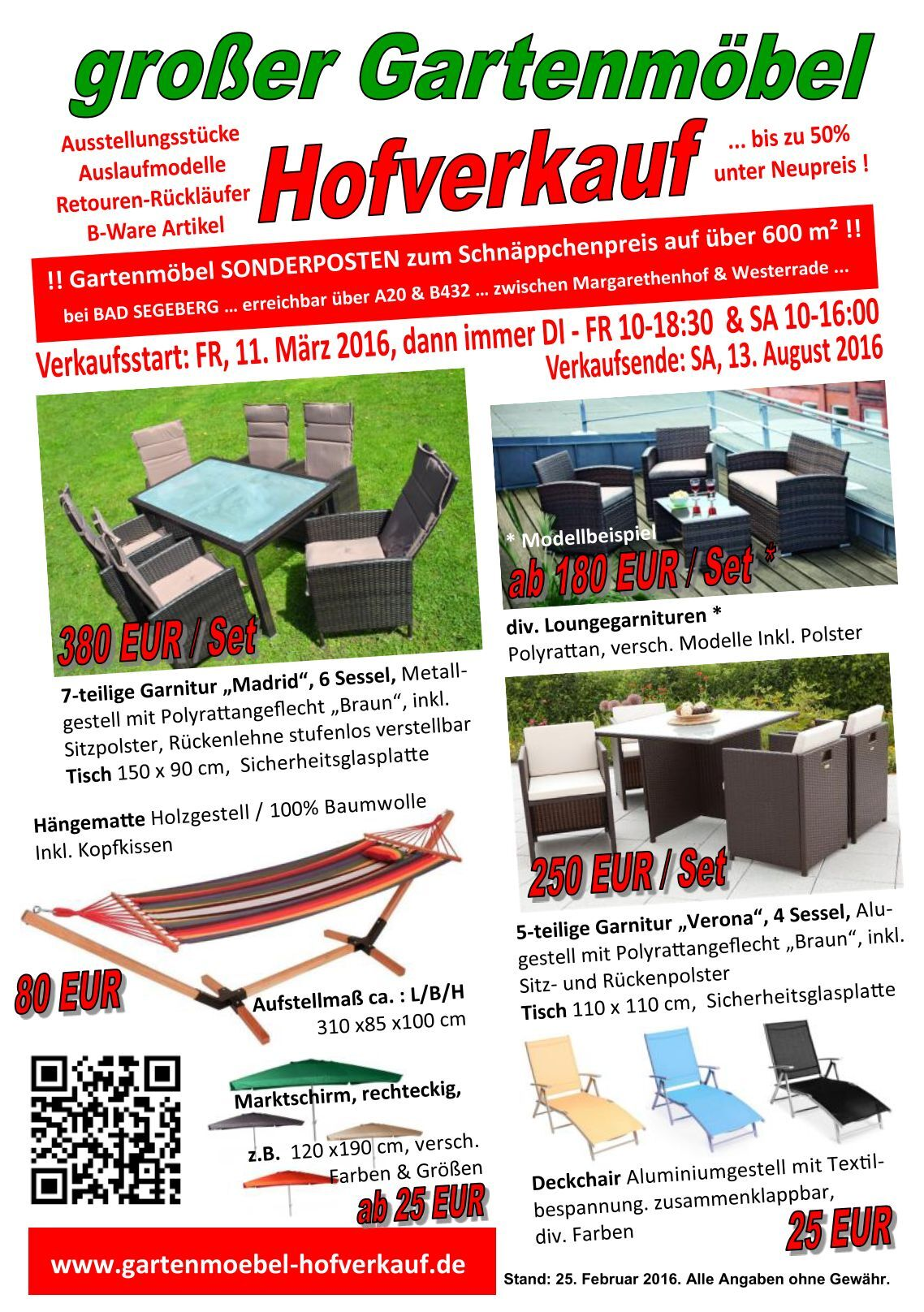 30 free magazines from gartenmoebelhofverkauf. Black Bedroom Furniture Sets. Home Design Ideas